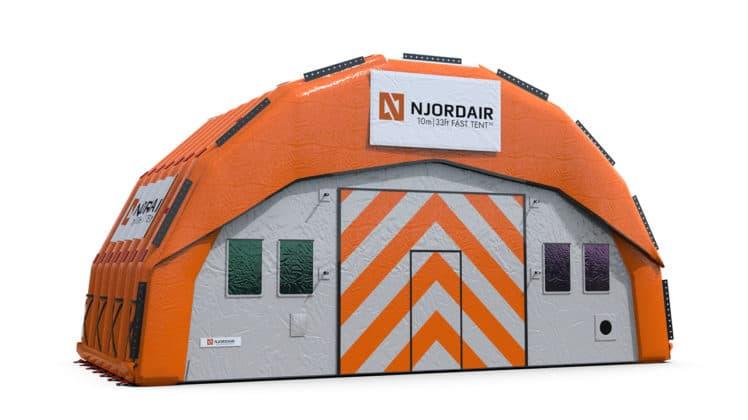10m Fast Tent Module