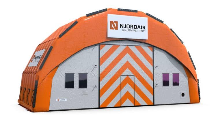 12m Fast Tent Module