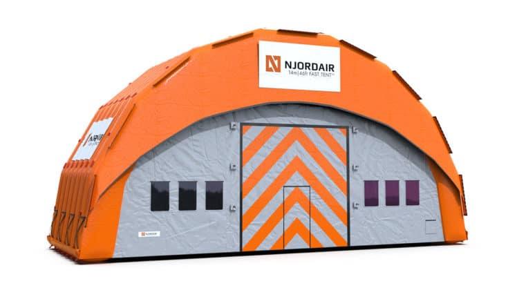 14m Fast Tent Module