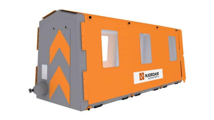 2m Fast Tent Module