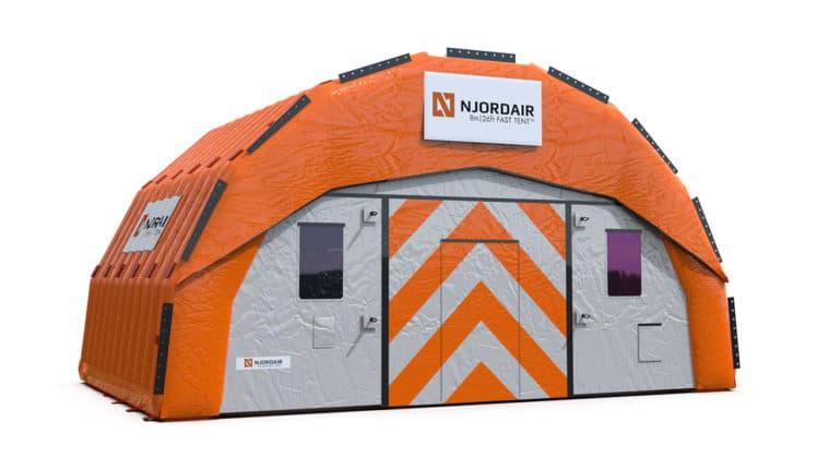 8m Fast Tent Module