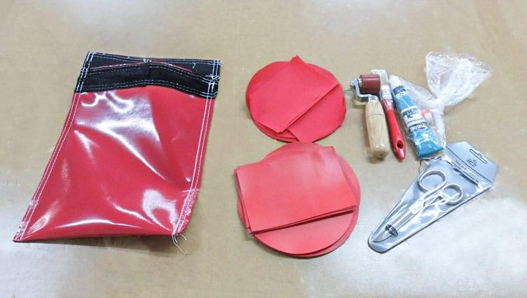 sealed air inflatable repair kit